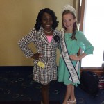 Cheynie Singleton and National All-American Miss pre-teen
