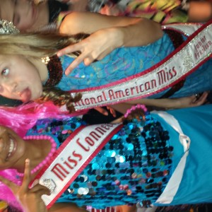 My little sister Nanelia and cover girl...I think she will be princess next year! Miss CT Nalani