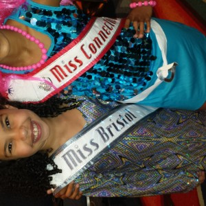 All American and National Queen  Miss CT Nalani and Miss Texas