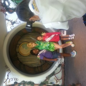 lacrissa and pearl smith with tinker bell