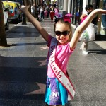 Miss Nebraska Princess Kadynce Mullins modeling her custom NAM skirt