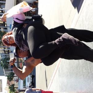Mr Muscles lifts GRANDMA!!! Miss CT Jr Pre Teen Balance McDuffie