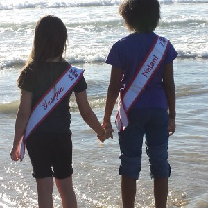 No Greater Love than to lay your life down for a friennd! Miss CT Nalani and Samantha All American