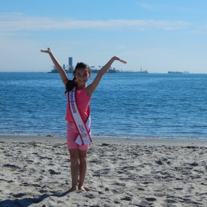 Miss PA Jr Pre teen Kylie at Long Beach