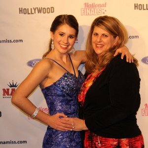 Daniella and Mom Red Carpet