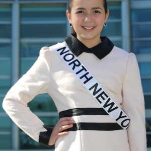 Getting ready for interview with your 2014 National American Miss New York Jr. Pre-Teen Queen Annaliese Arena!