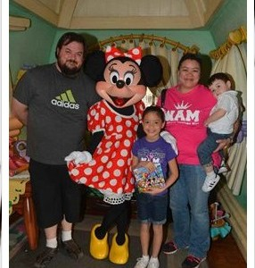 Vanessa H. Minnie and Family. TX Princess