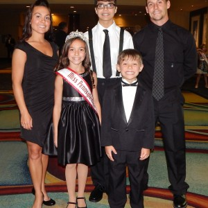 Kylie Beck And Family 2014 PA Jr Pre teen
