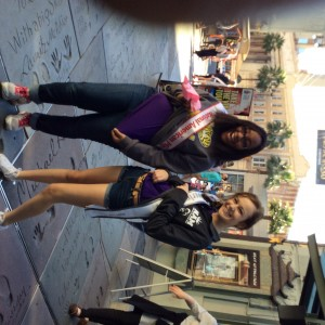 Aiyana and purple team member