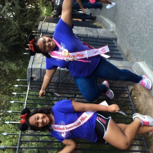 Aiyana and Nilah... Disney was great!