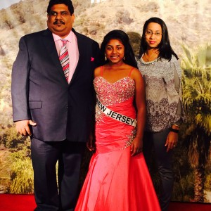 NJ Pre-Teen teen Andrea John Family Gown Photo