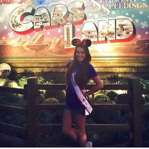Happy Thanksgiving!! All the way from sunny, warm California Adventure in Anaheim, CA-Spencer Petty, 2014 National American MissTennessee Teen