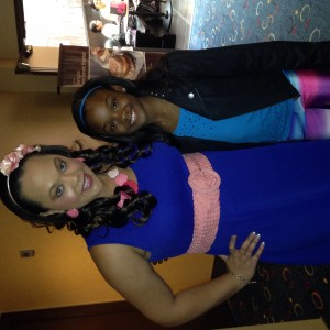 Ms Lakeisha and N'kiya Freeman Jr. Pre-Teen
