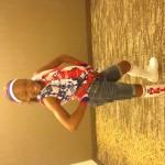 Jr Pre-Teen N'kiya Freeman Patriotic wear