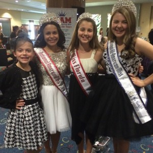 Pre-teen queens with Alison and Siera