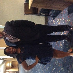 Jr. Teen Aiyana Egins and Georgia State Director Matt Leverton