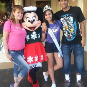 Amethyst's Family Time with Mickey Mouse
