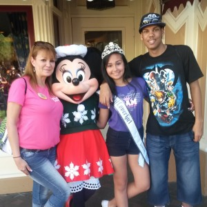 Amethyst's Family Time with MINNIE MOUSE..