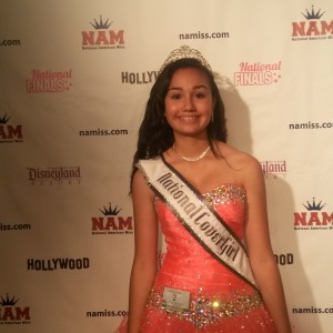 Amethyst Alvarado National Cover Girl Jr. Teen