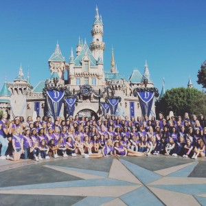 2015 Nationals - JT at Disney Castle