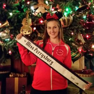Happy Holidays from Miss Perrysburg Teen 2016