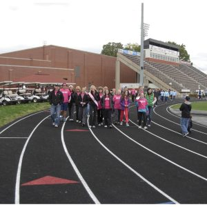 Allison Walter, Miss Indiana Teen, organized group of supporters to walk in the National Edating Disorder Association Walk