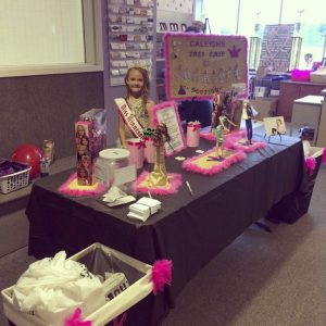 Caleigh Proulx, NAM Minnesota Princess, started Caleigh's Tres Chic donation boutique to collect used clothing for the Epilepsy Foundation