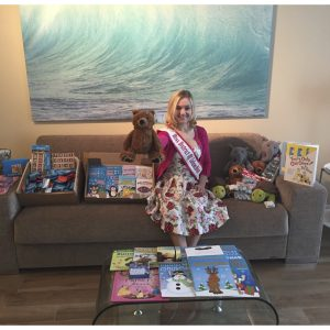 For her National American Miss Community Service Project, Miss Dictrict of Columbia, Katelynne Cox, hosted a toy drive for DC Children's Hospitals