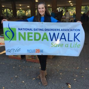 Madison Humphrey, Miss Perrysburg Teen 2016, serves as a spokesperson for the National Eating Disorders Association and volunteers at NEDA events to help give people hope that recovery is possible!