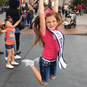 Miss Fort Worth~MuRae Horn having the time of her life at Disneyland