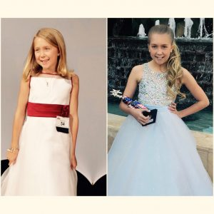 IL preteen Julia Gilmore Look at how far she has come! First NAMISS years ago to now!