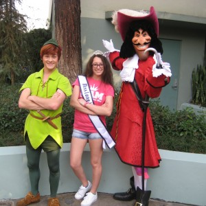 Miss Long Island with Peter Pan and Captain Hook