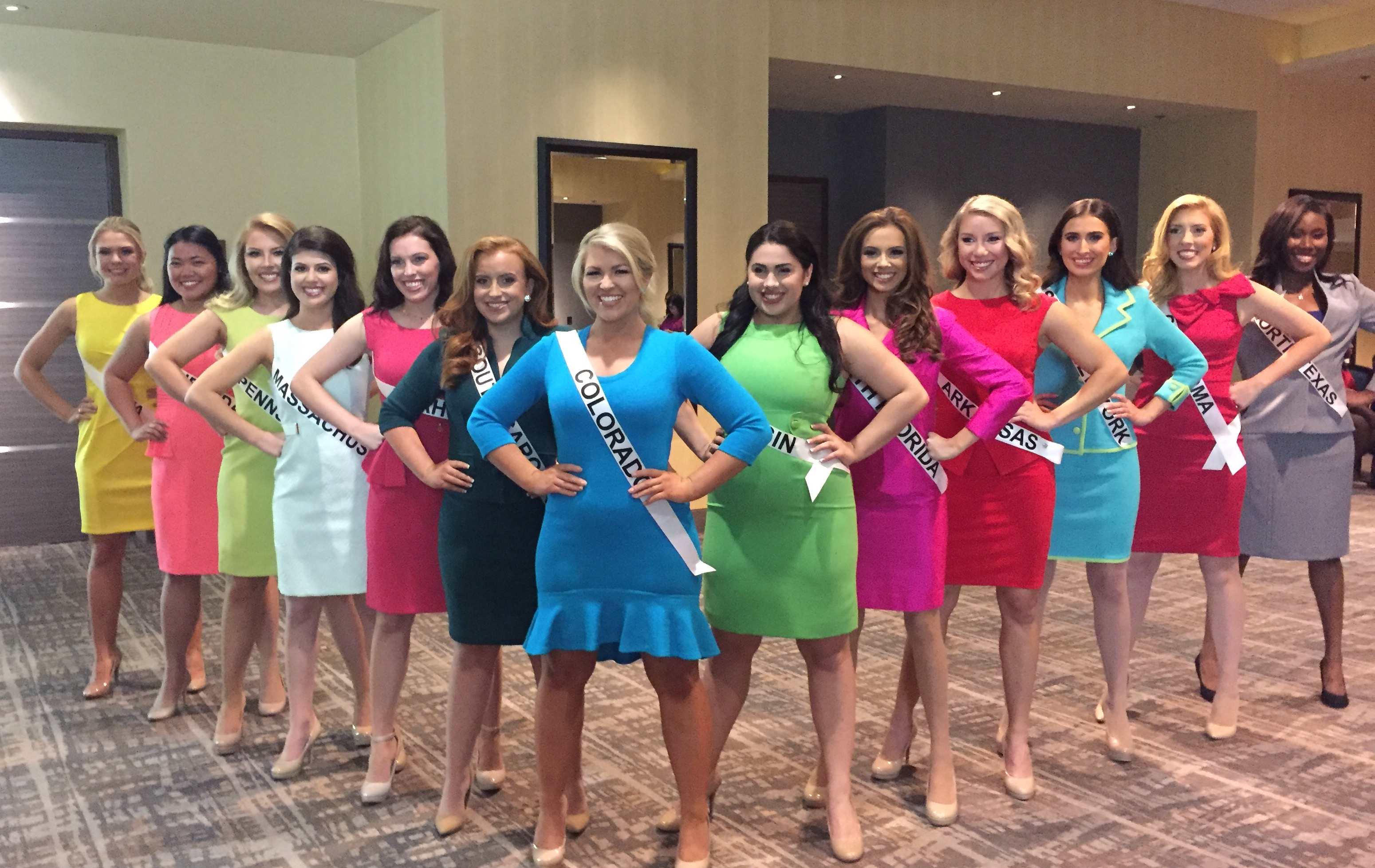 Miss Group National American Miss Photosnational