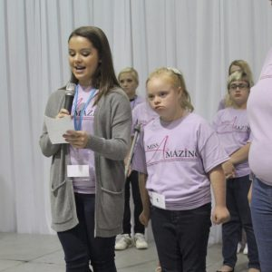 Kayla DaCruz, Miss New Jersey Jr. Teen gives back at the Miss Amazing Pageant