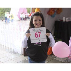 Kennedy Miller, NAM Finalist, at Susan G. Komen Breast Cancer Foundation Walk