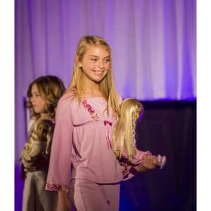 Lauren Sturgill, National American Miss Finalist, modeled in the American Girl Fashion Show to raise money for Seattle Children's Hospital Uncompensated Care