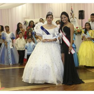 Michaela Abelgas, Miss Florida Teen, hosted the Barrio Fiesta for the Pilipino-American Association of Tampa and Philippine Cultural Foundation Inc.