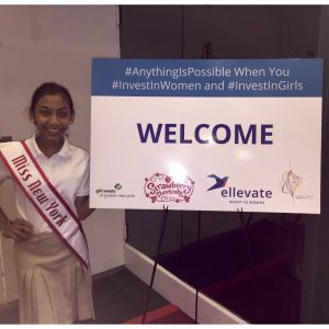 Miss New York Pre-Teen for National American Miss, Alyssa Daas, gives back to the Girl Scouts of Greater New York