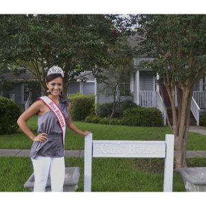 NAM Miss Alabama Teen, Jasmine Lee, works with The Care House to help council victims of violent crimes