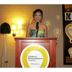 NAM Miss Florida Teen, Elizabeth Tran, hosted and produced a fasion show for the Children's Miracle Network Hospitals