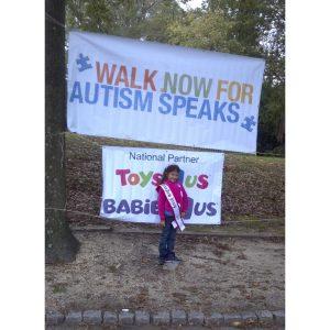 New Jersey Princess Queen, Amanda Rodriguez, volunteers her time at Autism Speaks