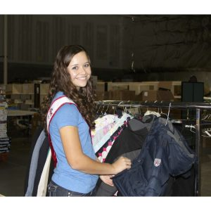 Sydni Alexander, NAM Miss Virginia Jr. Teen held coat drives for Help For Others, Inc.
