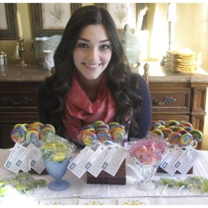 "Victoria Piekut, NAM Miss Pennsylvania Teen, created a fundraiser called ""Pops For POTS"" to raise money for the Dysautonomia Youth Network of America (DYNA)"