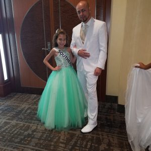 2016 Miss Southern New England Jr.Pre-Teen Nimsaily With Her Daddy