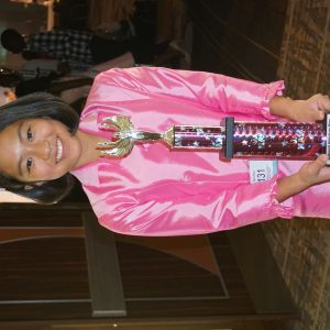 Elena Song 1st runner-up Talent Preteen 2016