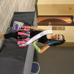 Sammie Young, Ohio Jr. Teen Cover Girl glowing bright