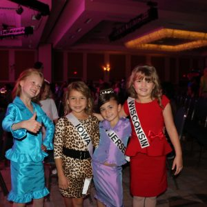 My (Miss Colorado Princess, Brooklyn Bissett) friends and I being silly after our Personal Introduction competition!