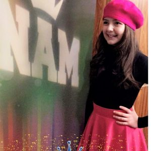 Anna with Nam Logo