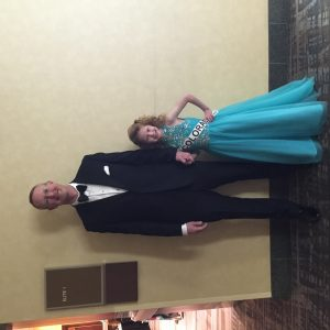 The best escort ever, my Dad and me! (2016 Miss Colorado Princess Brooklyn Bissett)