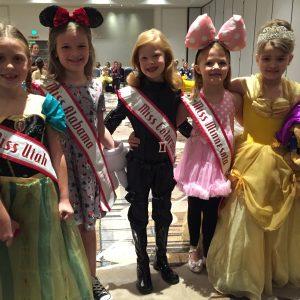 2016 State Queen Disney Charachter Rehersal